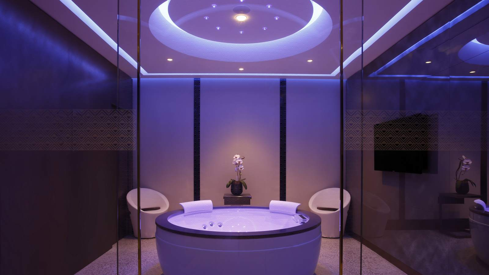 Spa Bathroom Suites Shiseido Spa Milan Excelsior Hotel Galliamilan