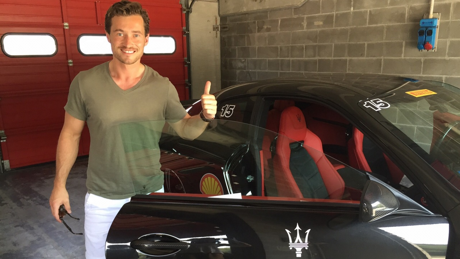 Maserati with SPG member James