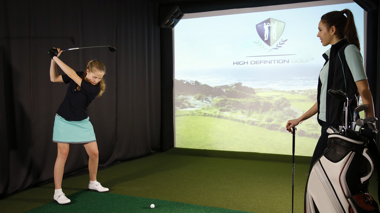 Virtual Golf Excelsior Hotel Gallia