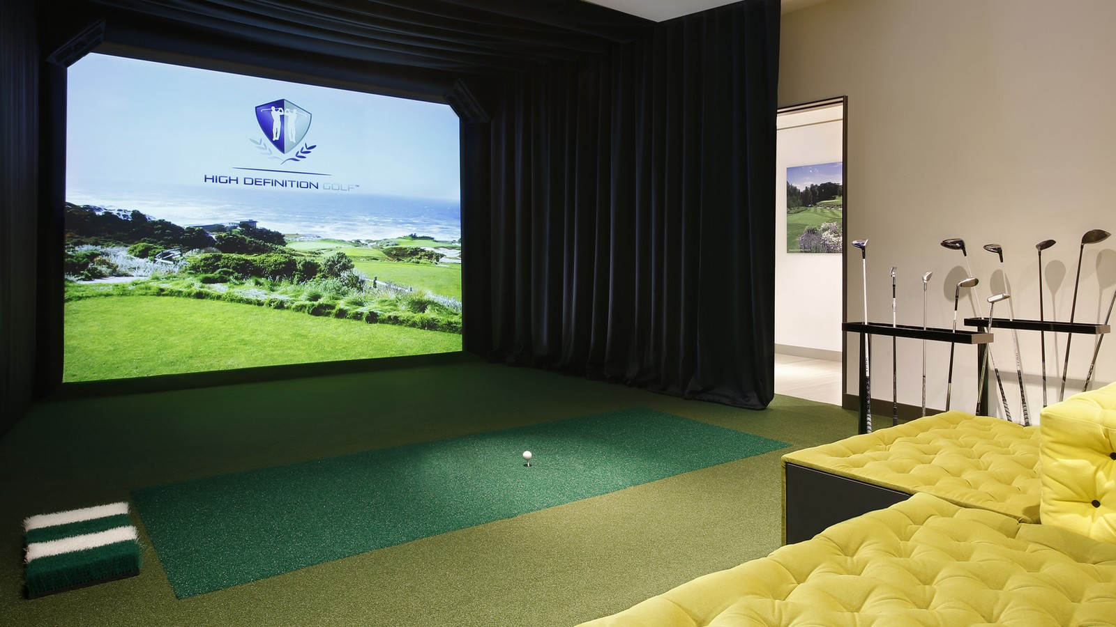 The Virtual Golf room
