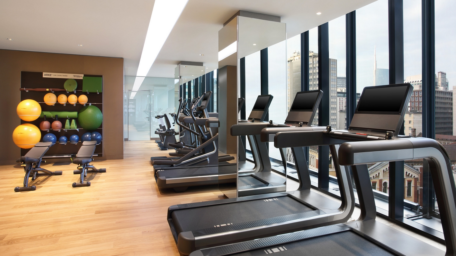 fitness center shiseido spa excelsior hotel gallia